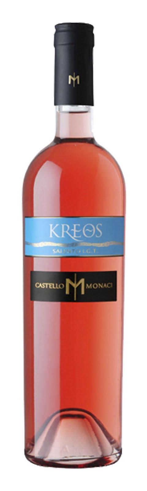 Tasteful Tannins -  Castello Monaci Kreos Rosato Salento