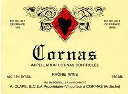 Tasteful Tannins Domaine Auguste Clape Cornas